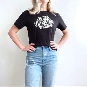 Bella-Canvas Black Graphic T-Shirt